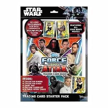 Topps Star Wars Force Juego De Cartas Comerciales Universo ...