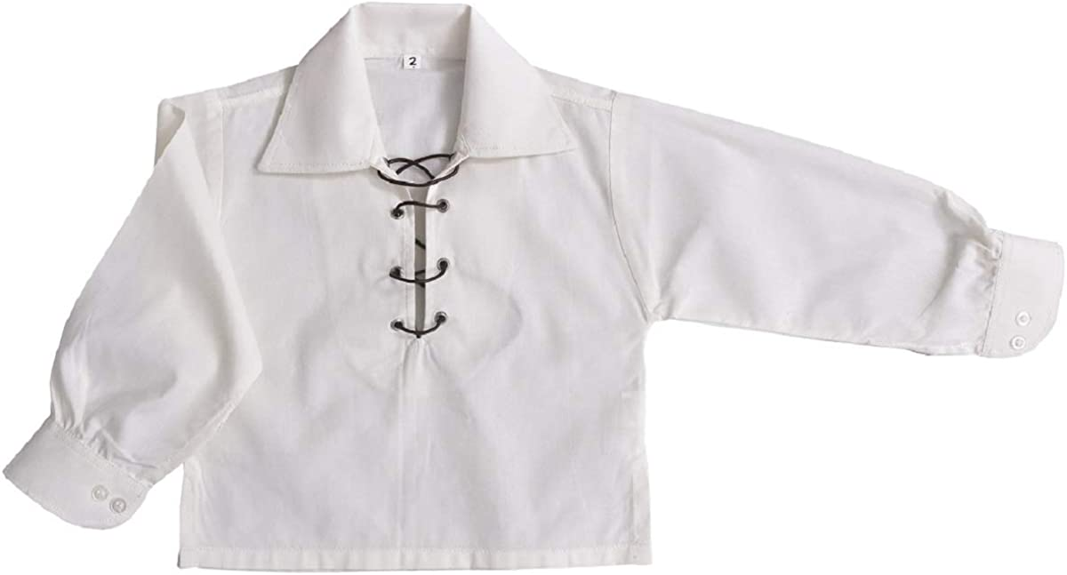 Tartanista Boys Jacobite//Jacobean Scottish Ghillie Shirt