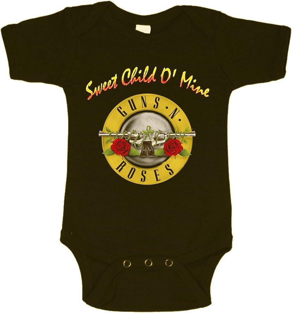 Guns N Roses Sweet Child O Mine Body para bebé - - 6-12 Meses: Amazon.es: Ropa y accesorios