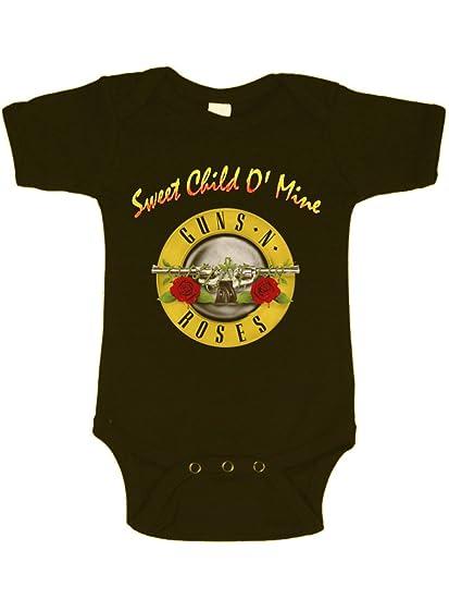 6b896c8c666c Guns 'N Roses Sweet Child O' Mine Baby Bodysuit: Amazon.ca: Clothing ...