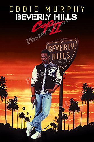 Posters USA - Beverly HIlls Cop II Movie Poster GLOSSY FINISH - FIL055 (24