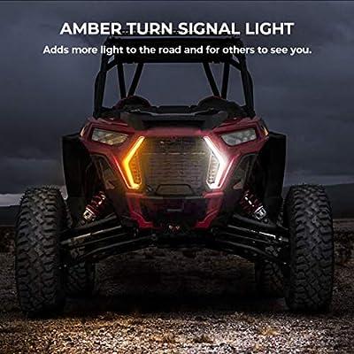 RZR Turn Signal light, KEMIMOTO IP67 Front Signature/