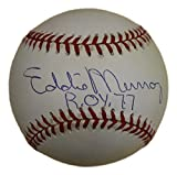 Eddie Murray Autographed/Signed Baltimore Orioles AL Baseball 77 ROY JSA