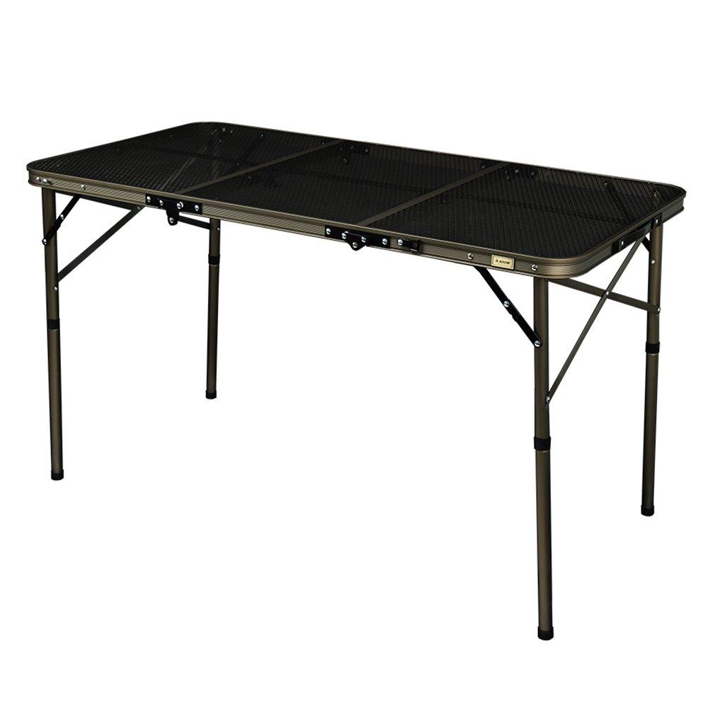テーブル アイアンメッシュ 3フォールディングテーブル ブラックエディション【正規輸入品】 K7T3U014 B078GDLDKW