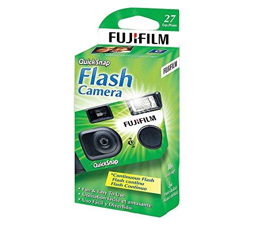 Fujifilm Quicksnap Flash 400 Disposable Single-Use Camera