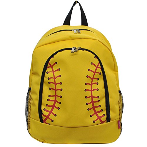 NGIL Children's School Backpack 2018 Collection (Yellow Softball)