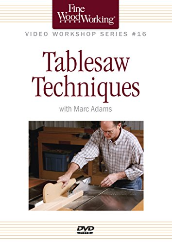Fine Woodworking Video Workshop Series – Tablesaw Techniques