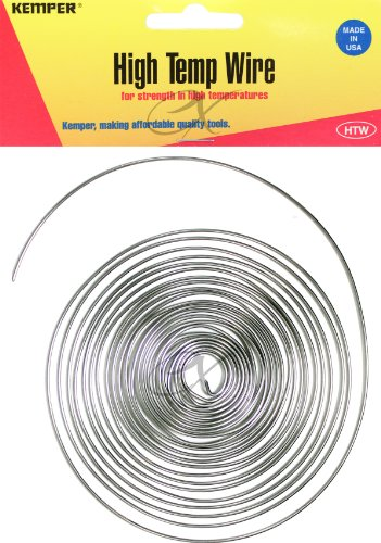 Kemper High Temp Wire 17 Gauge 10 Feet Great General Purpose Support Wire (Original Version)