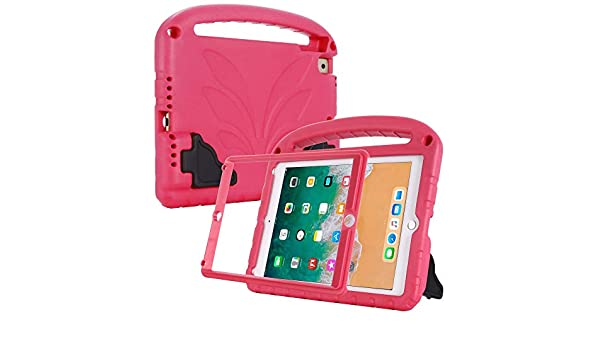 con Protector de Pantalla Integrado para iPad de 9,7 Pulgadas 2018//2017 EVA Ligera Funda Protectora para ni/ños Compatible con Cradle HR a Prueba de Golpes con patr/ón de Loto