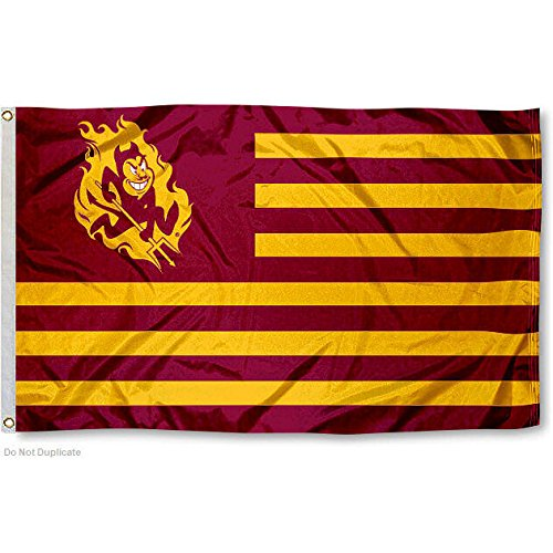 Arizona State ASU Alumni Nation Stripes Flag