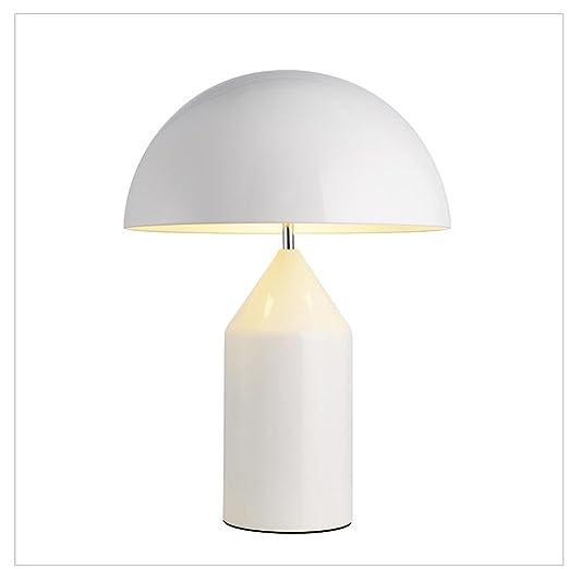 E14 Moderno Contemporáneo Sencillo Metal Seta Lámpara de mesa ...