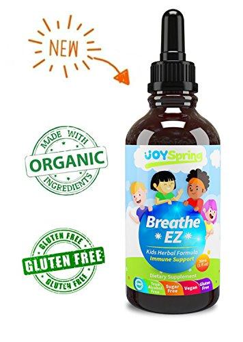 All Natural Kids Allergy Medicine - Non Drowsy Childrens Allergy Medicine - Tasty Natural Cough Medicine for Kids Allergy Medicine For Kids