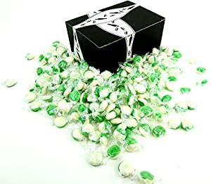 Key Lime Disks by Cuckoo Luckoo Confections, 2 lb Bag in a BlackTie Box