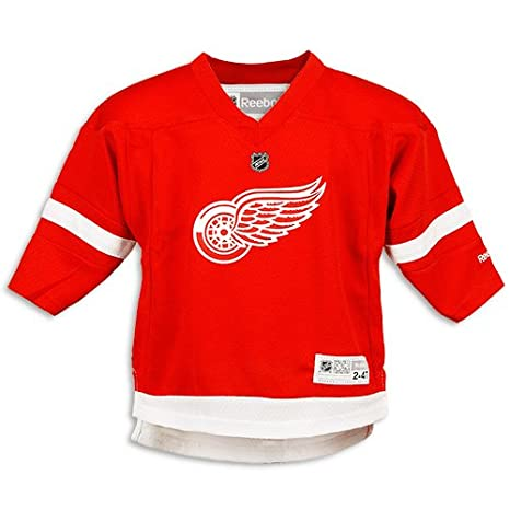 ce254f55 Amazon.com : Reebok Detroit Red Wings Toddler Replica Home Jersey 2-4  Toddler : Sports Fan Jerseys : Sports & Outdoors