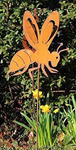 Bornhöft Adorno para jardín de Abeja y Avispa, 60 cm, Metal ...