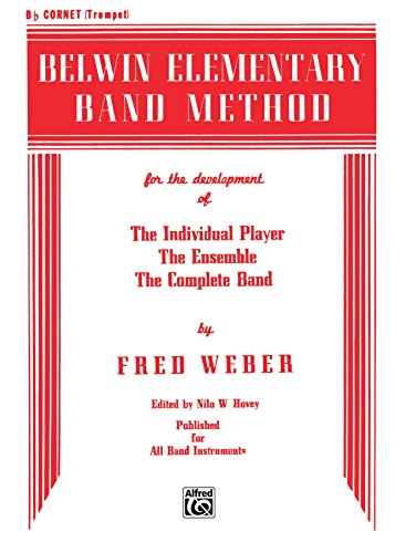 Belwin Elementary Band Method for B-flat Cornet (Trumpet) for sale  Delivered anywhere in USA