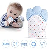 Teething Mitten for Babies, Baby Chew Toys Teething Mitten Self-Soothing Pain Relief Teether Stay on Baby's Hand BPA Free Perfect Gift for Newborn Boys and Girls, 3-12 Months Babies, Toddlers, Infant
