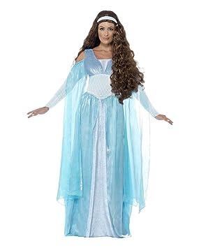 Horror-Shop Disfraz Medieval Maid Deluxe L: Amazon.es: Juguetes y ...