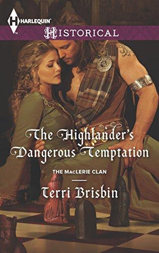 book cover of The Highlander\'s Dangerous Temptation