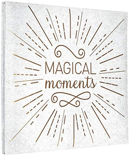 MCS MBI 13.5x12.5 Inch Magical Moments Theme Scrapbook Album with 12x12 Inch Pages (860138)