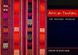 img - for African Textiles: The Newark Museum: A Book of Postcards book / textbook / text book