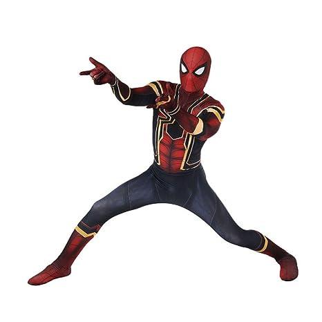 KYOKIM Spiderman Homecoming Cosplay Disfraz De Halloween 3D ...