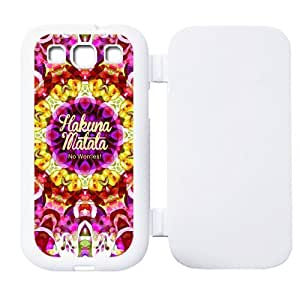 Hakuna Matata TPU Case Flip Cover Best Protection For Samsung Galaxy S3 i9300