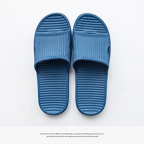 uomini estate scuro blu pantofole pantofole in nbsp;Le bagno 42 femmina Fankou home schiuma silent 43 indoor nbsp; antiscivolo coppie leggero qHW06