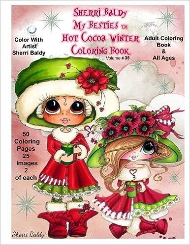 Amazon Sherri Baldy My Besties Hot Cocoa Christmas Coloring