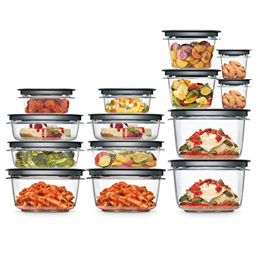 Rubbermaid 2108373 Meal Prep Premier Food Storage Container