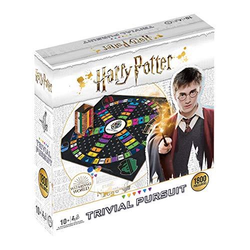 Trivial pursuit Harry Potter 1800 Preguntas – Juego de Mesa – Versión en español