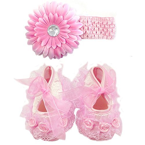 Wrapables Floral Keepsake Shoes Headband