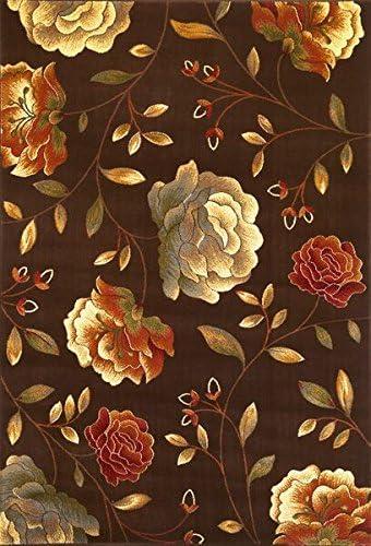 KAS Oriental Rugs Lifestyles Collection Capri Area Rug, 23 x 35 , Mocha