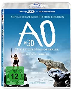 AO - Der letzte Neandertaler [3D Blu-ray + 2D Version] [Alemania] [Blu-ray]