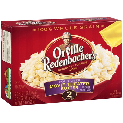 Orville Redenbacher's Gourmet Pour Over Movie Theater Butter Microwave Popcorn 9.8OZ (Pack of 24) by Orville Redenbacher's