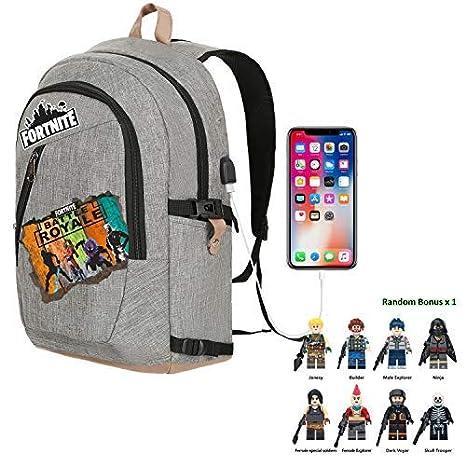 27bb2ec6955a Amazon.com: Battle Royale Premium Backpack with Bonus Fans Cap Hat ...