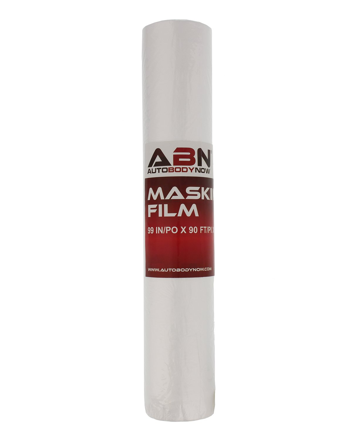 ABN Clear Plastic Sheeting, 99 in/po x 90 ft/pi x 0.35 Mil – Paint Overspray Transparent Protective Masking Film Roll by ABN