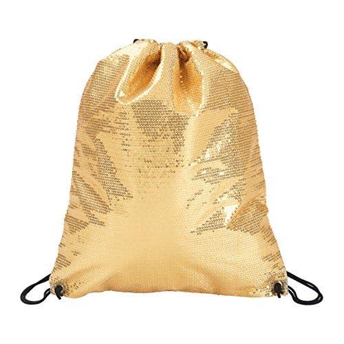 Sequin Cinch Bag,FP062