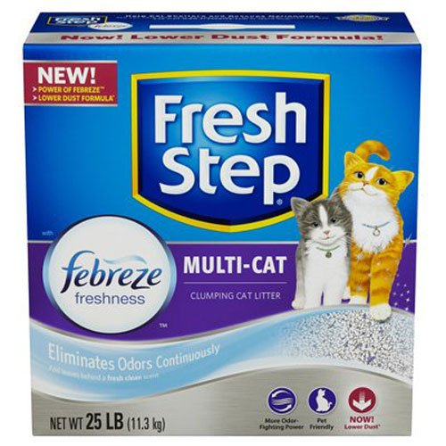 fresh-step-multi-cat-with-febreze-freshness-clumping-cat-litter-scented-25-pounds