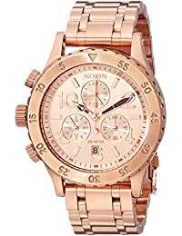 Women's A4041044 38-20 Stainless Steel Chronograph Watch, Rose Gold