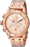 Nixon Women's A4041044 38-20 Stainless Steel Chronograph Watch, Rose Gold