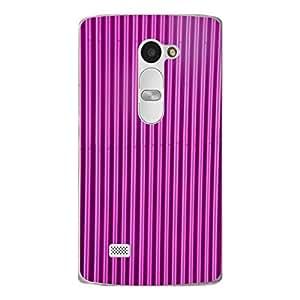 "Disagu Design Protective Case para LG Leon LTE Funda Cover ""Blechoptik Pink"""