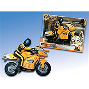 Mb espa¥a, s.a. - Action man moto ninja: Amazon.es: Juguetes ...