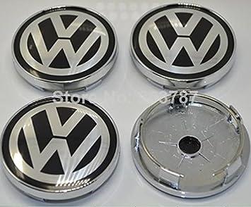 Audi - Tapacubos centrales de llanta de VW (60 mm): Amazon.es: Coche y moto