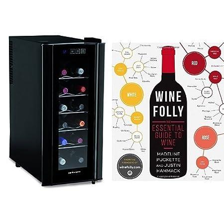Vinoteca para 12 botellas y guía de vinos (inglés): Amazon.es: Hogar