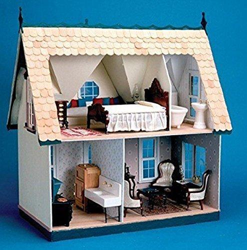 Greenleaf Corona Dollhouse Kit Full house, Orchid, New!!!