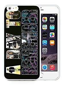 Fashion And Unique iPhone 6 Plus 5.5 Inch TPU Case Designed With a day to remember White iPhone 6 Plus