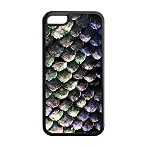 5C Phone Cases, Mermaid Skin Hard TPU Rubber Cover Case for iPhone 5C