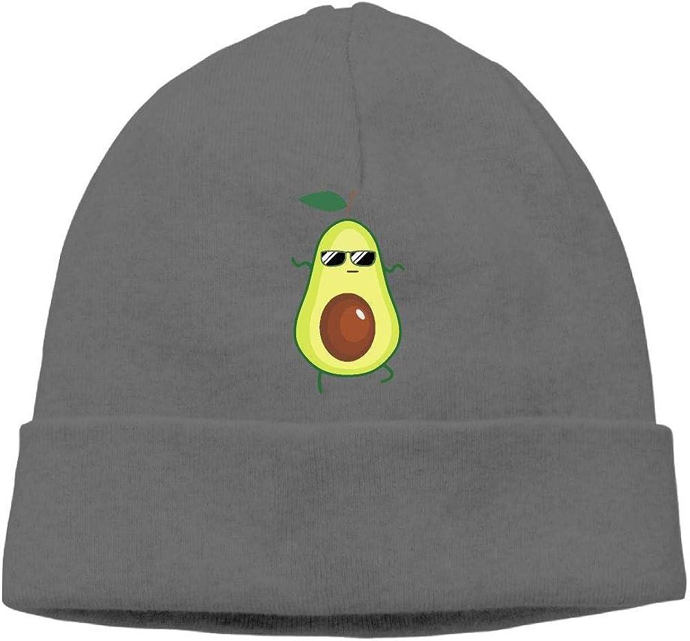 Cute Cartoon Avocado Men /& Women Winter Warm Wool Cap