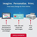 Avery Easy Peel Print-to-the-Edge White Square